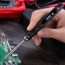 TS100 Mini Soldering Iron 65W Interface DC5525 Portable Digital OLED Tool Gift
