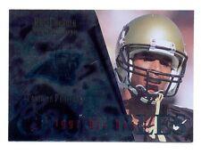 1997 CE Masters RAE CARRUTH Carolina Panthers Crucibles Rookie Insert Card