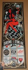 Queens of the Stone Age Dayne Henry Las Vegas Poster Print Signed Numbered Art