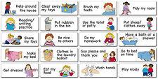 20 Children's Reward Stickers Magnets (Kids Bedroom Bedtime Magnetic Chart)