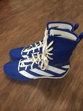 Adidas Men's Boxing Box Hog 3 Shoes Size 9 Blue White Japan Flag EG5170