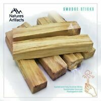 6 Pack Palo Santo Smudge Incense Sticks | Sustainably Sourced | Premium Quality