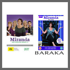 Miranda: The Complete Series Season 1, 2, 3 & 4 (The Final) DVD set R4 New Seale