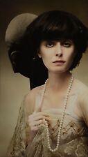 Karl Lagerfeld Original Limited Edition Photo 25x44cm Chanel evening dress 1910