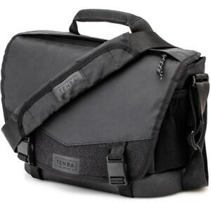 Tenba DNA 9 Slim Camera Messenger Bag in Black - DSLR ILCE Mirrorless (UK)  BNIP