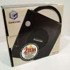 NINTENDO GAMECUBE ONYX VIDEO GAME SYSTEM WITH ZELDA BOX - NO DISC