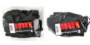 HWI HKTG Hard Knuckle Glove Pair HKTG100B with KEVLAR Size X-Large Sm USA NEW
