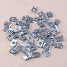 Speed 6mm Hole Fasteners U Nuts Self Tapping Screw 50x Spire Clip Trim Panels ss