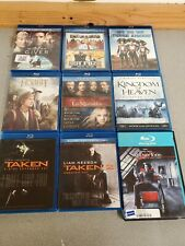 Lot Of 9 Blu-Ray Discs