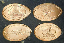San Francisco,Ca. - California Conservatory Of Flowers - Four Retired Pennies