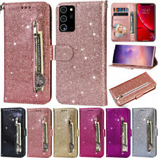 Zipper Wallet Leather Flip Cover Case For Samsung A52 A22 A12 A51 S21 S20 S10 S9