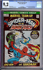 Marvel Team-Up #1 CGC 9.2 1972 Spider-Man! Avengers! White Pages H9 121 cm clean