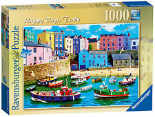 HAPPY DAYS TENBY 1000 PIECE RAVENSBURGER JIGSAW PUZZLE