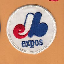 OLD 1970s MONTREAL EXPOS 3 inch LOGO PATCH Unused Unsold stock