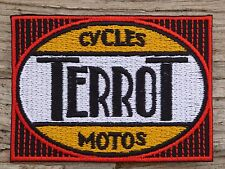 A170 ECUSSON PATCH THERMOCOLLANT aufnaher toppa TERROT moto sport automobile