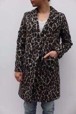 Cappotti e giacche da donna marrone di lunghezza al ginocchio taglia 44