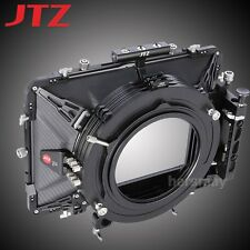 "JTZ DP30 Carbon Fiber 6x6"" Matte Box 15mm/19mm For Sony Panasonic Canon RED ARRI"