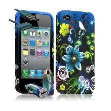 Housse Etui Coque pour Apple Iphone 4 / 4S motif HF09 + Chargeur Auto