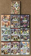 The Sims 3 + 9 Expansion Packs PC DVD game lot bundle