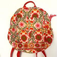 $92 NWOT Vera  Bradley Large Backpack-Folkloric Flowers Pink Retired