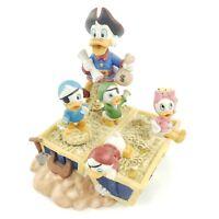 "Disney Collectible (Schmid) - Uncle Scrooge Music Box  ""A Christmas Carol"" RARE"