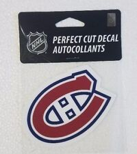 """Montreal Canadiens 4"""" x 4"""" Logo Truck Car Window Die Cut Decal Color New NHL"""