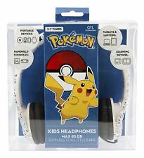 Pokemon Pikachu Face Kids Headphones [Electronics 85dB Sound Nintendo PK0602]