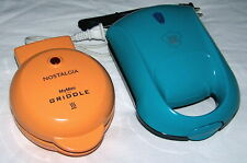 Nostalgia My Mini Griddle & Yes Chef Pocket Sandwich Maker - Nice!
