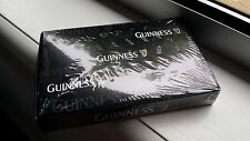 GUINNESS BEER PLAYING CARDS DOUBLE BLACK DECK BRAND NEW IN BOX