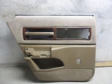Driver Rear Door Panel Chevy Caprice Clic 91 92 93 94 95 96