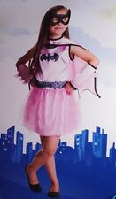 Girls Pink Batgirl Bat Girl Halloween Costume Batgirl Dress Purim Outfit 2T NEW