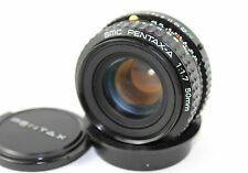 SMC PENTAX-A (K mount) 1:1.7  F=50mm Prime Lens (Front & Rear Caps).