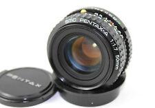 SMC Pentax-A (K MOUNT) 1:1 .7 F = 50mm focale fissa (tappi anteriore e posteriore).