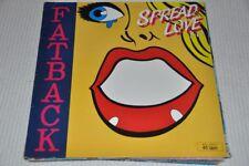 """Fatback - Spread Love - 80er 80s- 12"""" Maxi Single Vinyl LP"""