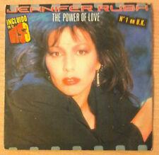 "JENNIFER RUSH  "" The Power Of Love "" - Vinyl single 7"" - CBS A 5003 - 1985 Spain"
