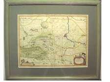 1 Orig kolor. Kupferstichk. v. Pitt ca. 1680 HALBERSTADT