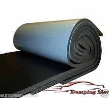 5X Large Sheets 10mm 24 sq.ft. Car Van Sound Proofing Deadening Insulation NEW!!