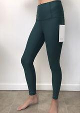Lululemon Green Jasper Zoned In Tight RRP $148 Uk Size 10 Free Postage