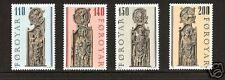 Faroe Islands # 55-58 Mnh Religious & Art Coat of Arms