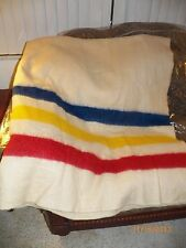 3 Point striped Wool Blanket 72x90in no tag
