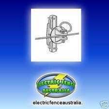 ELECTRIC FENCE PINLOCK WOOD POST INSULATORS (BAG OF 25)