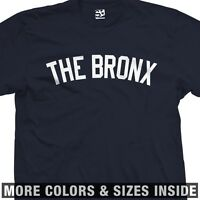 The Bronx Yankee T-Shirt - New York Borough Hip Hop Culture - All Sizes & Colors