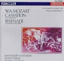 Mozart: the complete works for violin Orch Jean-Jacques Kantorow Leopold Hager