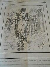 Typo 1890 Costume pour les Bains de Mer et dans les rues de Paris