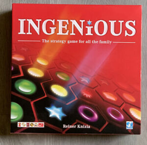 INGENIOUS BOARD GAME The Strategy Game For All The Family (Opened, Never Played)