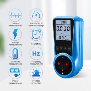 Electricity Consumption Power Meter Energy Monitor Watt Kwh Analyzer UK US Plug