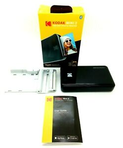 ~FOR PARTS ONLY-NOT WORKING~ Kodak Mini 2 Portable Mobile Instant Photo Printer