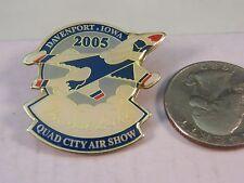 DAVENPORT IOWA QUAD CITY AIR SHOW 2005 THUNDERBIRDS PIN