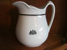 Jackson China Pennsylvania Coat of Arms Pitcher Virtue Liberty and Independence