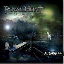 ROYAL HUNT - A LIFE TO DIE FOR  CD + DVD NEW+
